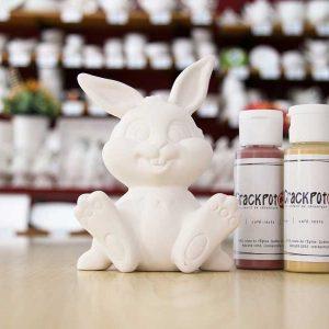 Figurine Léo le lapin